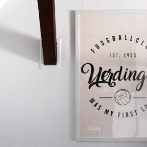 Poster Uerdingen first love